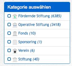 Bild Kategorienfilter
