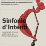 Sinfonie d'Intenti – Save the date 18.10.2019 – Ein Event unterstützt von fundraiso.ch