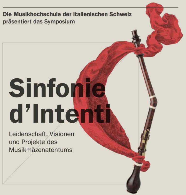 Sinfonie d'Intenti - Save the date 18.10.2019 - Ein Event unterstützt von fundraiso.ch